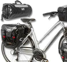 M-Wave Alberta Rear 40 Litre Waterproof Panniers