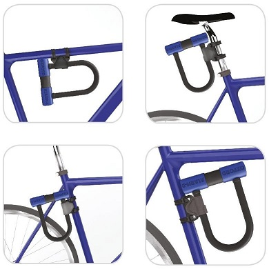 Oxford Bicyclette Cycle Vélo Haute Sécurité Alarme-D Lock Max Duo 320 mm x 173 mm LK357