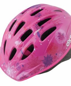 OXFORD Poppet Pink Flower Kids Helmet