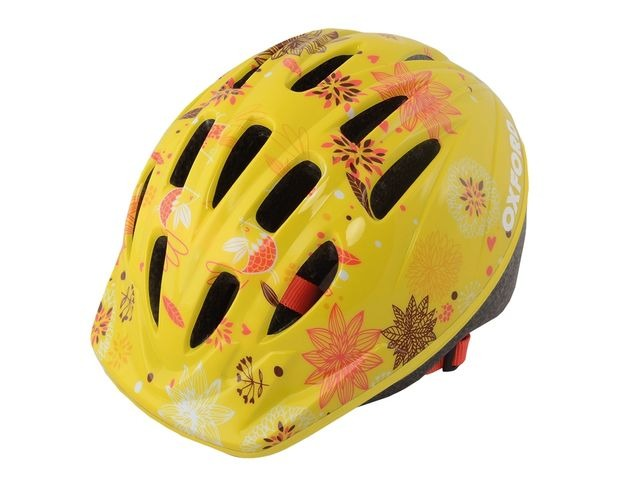 OXFORD Poppet Yellow Flower Kids Helmet