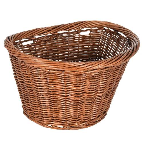 Bicycle Wicker Basked D Shape