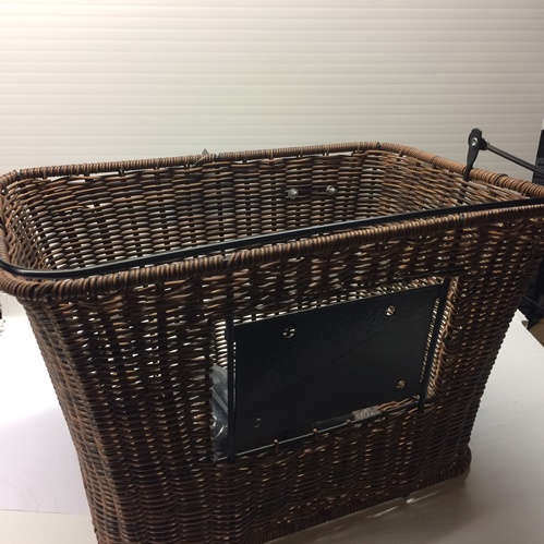 Adie Rattan Shopping Bike Basket